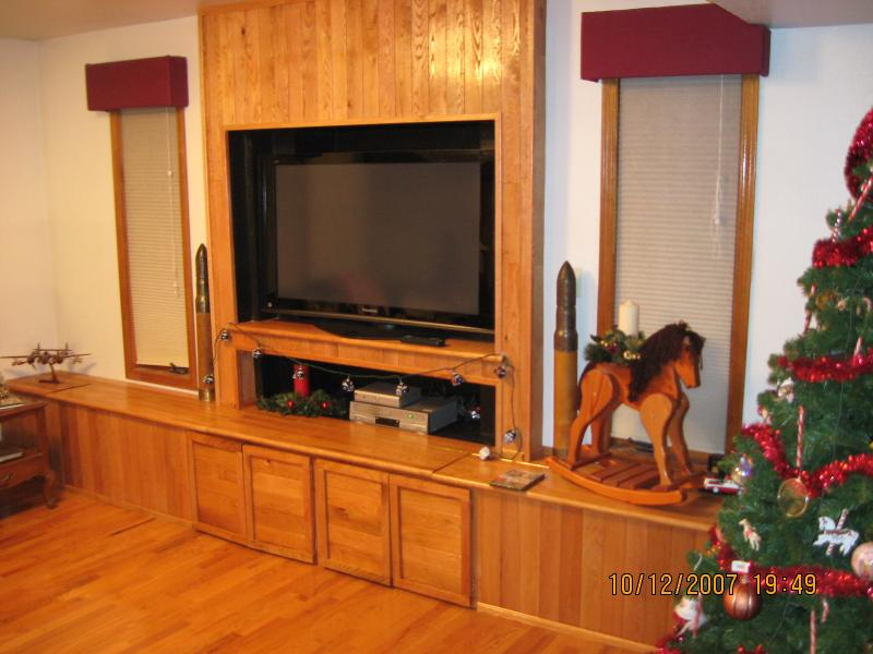 Gas Fireplace And Tv Entertainment Center Fireplaces